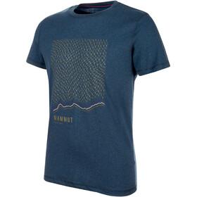 Mammut Sloper Miehet Lyhythihainen paita , sininen
